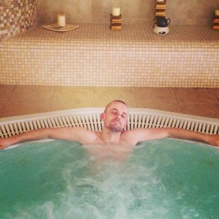 Grand Hotel Stamary:                   Nice and relaxed in the hotel's jacuzzi
