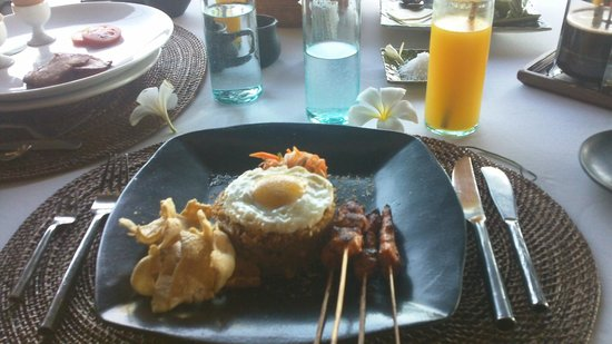 The Damai:                   Indonesian breakfast