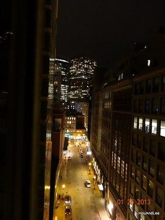 Hyatt Regency Boston:                                     View form our room