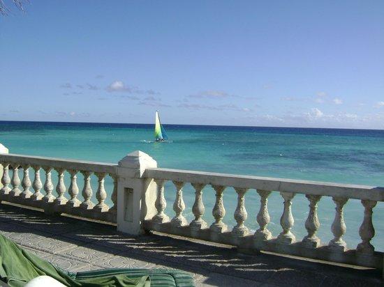 Dover Beach Hotel:                   deck