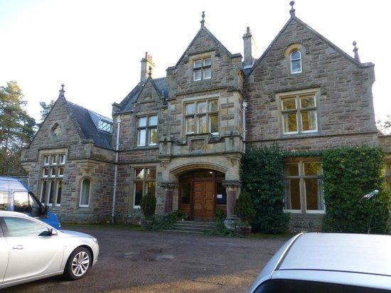 Newbold House:                                     Newbolds front door