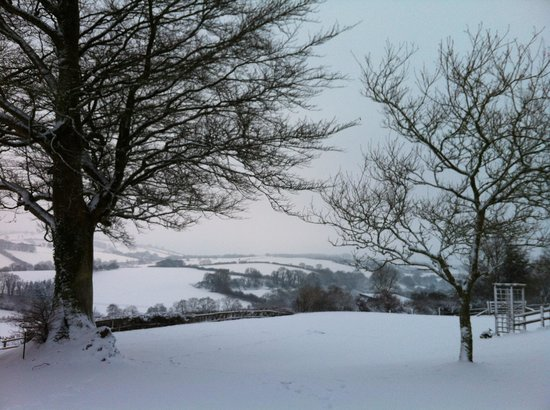 Little Quarme Cottages :                                     Winter wonderland