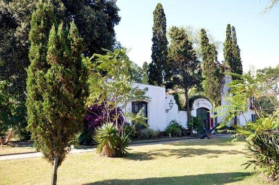 Hosteria Fortin de Santa Rosa: Frente del hotel