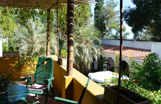 Hosteria Fortin de Santa Rosa:                   Vista desde la galería del primer piso