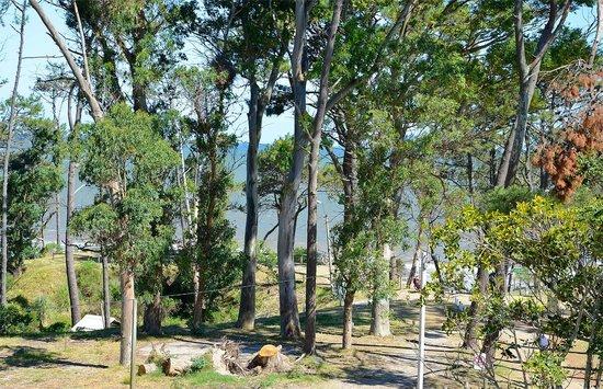 Hosteria Fortin de Santa Rosa:                   Vista de la playa desde el torreón