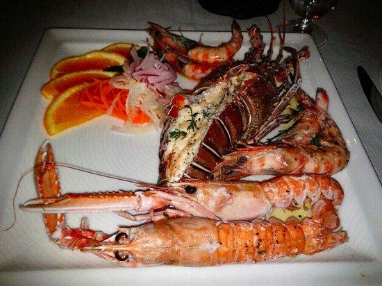 Tira Tardi :                   Lobster, Shrimps & Langoustines