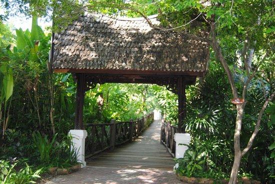 Marina Phuket Resort:                   von der Rezeption zu den Bungalows