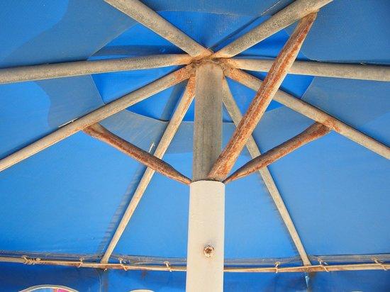 Lindos Princess Beach Hotel:                   4 star beach umbrellas
