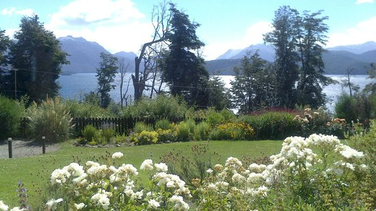 Hosteria Le Lac:                   Vista desde la habitación