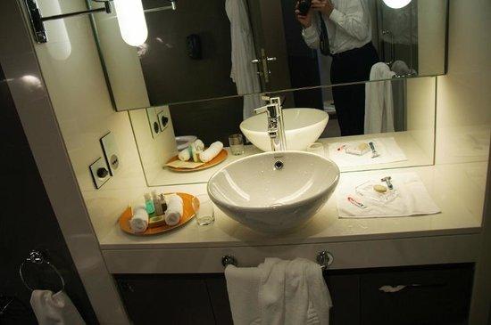 Park Rotana Abu Dhabi: bathroom