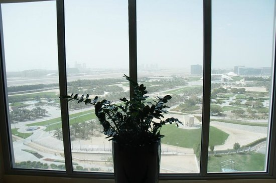 Park Rotana Abu Dhabi: from public area window