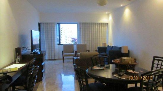 El Cid El Moro Beach Hotel:                                     Living room