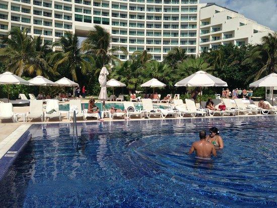 Live Aqua Beach Resort Cancun:                   Immaculate pool