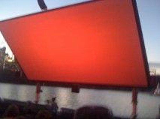 St George Openair Cinema:                   Big Screen