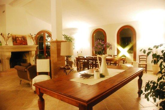 Agriturismo Villa Toscana: Sala degustazioni