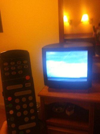 Westport Woods Hotel:                   Dated TV