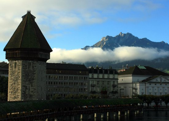 Hotel Des Alpes:                   view from the balcony