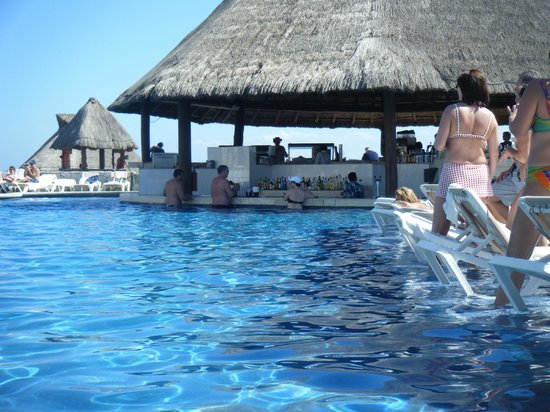 Heaven at the Hard Rock Hotel Riviera Maya:                                     Swim up bar