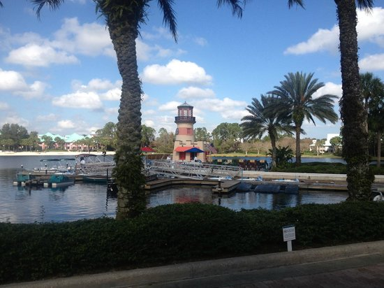 Disney's Caribbean Beach Resort:                   The Marina