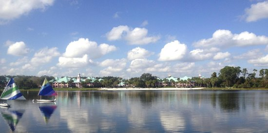 Disney's Caribbean Beach Resort:                   Relaxing sites