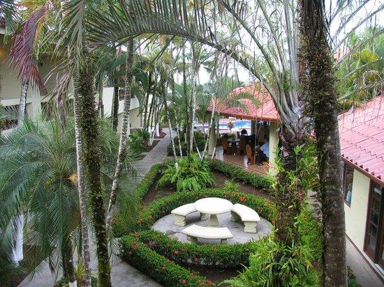 Hotel Mango Mar: vue de la chambre