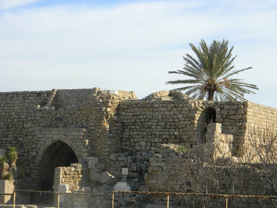 Northern District, Israel:                   Caesarea. By the medditerranean Sea is a Jewel!