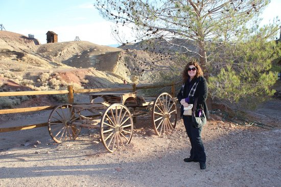 Calico Ghost Town:                   Lots of wild west artifacts