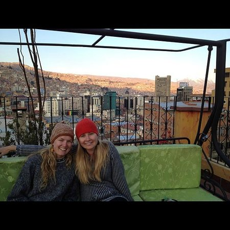 Hostal Estrella Andina: Rooft top