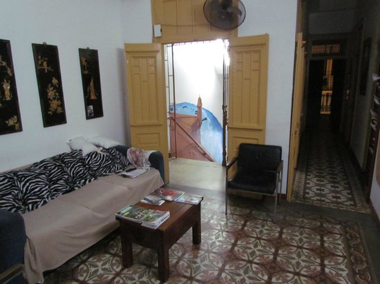 Fortaleza Guest House : Common living room