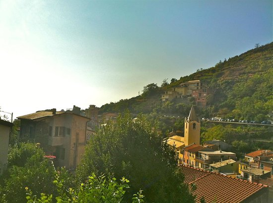 Cinqueterre Residence:                   View from balcony