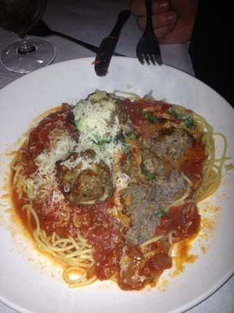 Michaels Table: spaghetti was wonderful!!