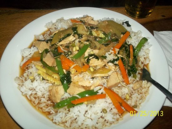 Cafe Campestre: chicken stir fry