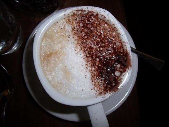 Hotel Indigo Edinburgh: The Perfect Cappuccino