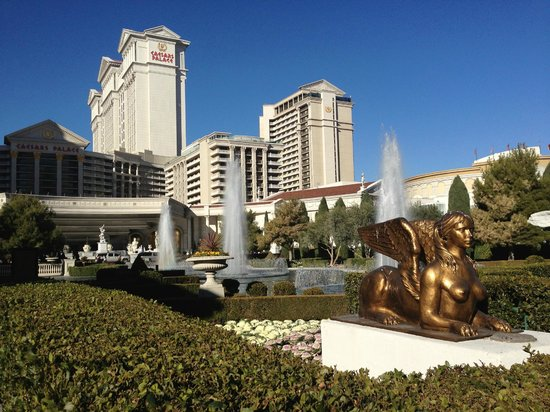 Caesars Palace:                                     outside view