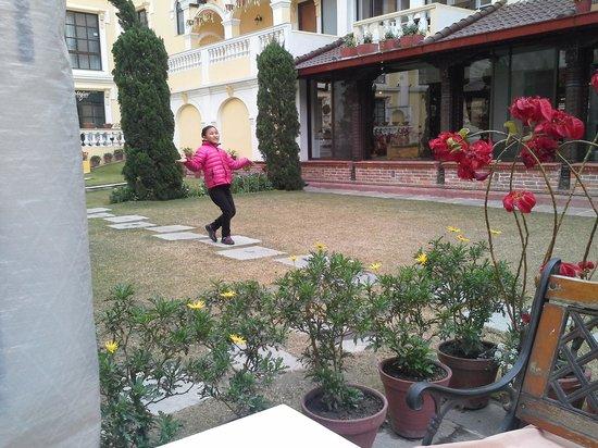 Kathmandu Guest House:                   KGH garden