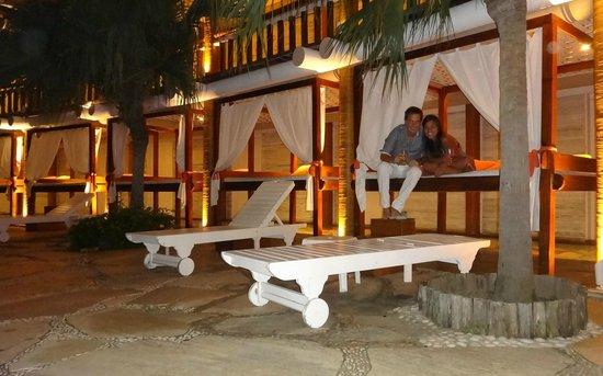 Perola Buzios Hotel: Tomando unos tragos a la noche