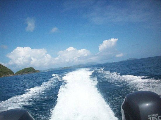 Copeland Boat Charters :                                     Cruising through the BVIs