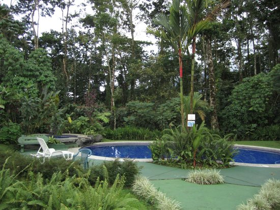 Catarata Eco Lodge S.A:                   Pool with waterfall