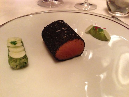 Amber at The Landmark Mandarin Oriental: salmon