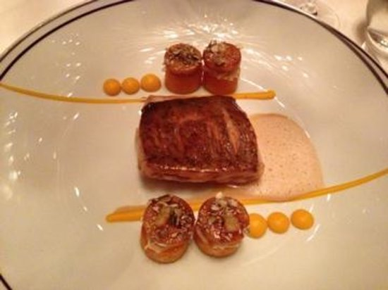 Amber at The Landmark Mandarin Oriental: sea bream