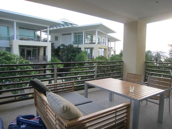 Moevenpick Resort and Spa Karon Beach Phuket:                   Balcony of Residence