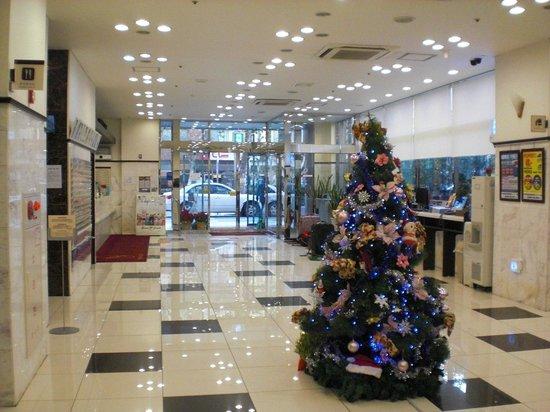 Toyoko Inn Busan Station No.2:                   酒店大堂環境