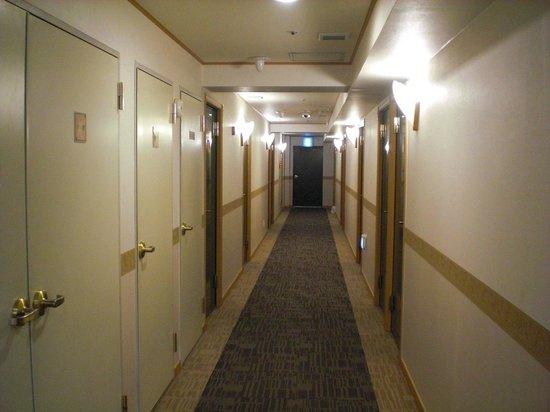 Toyoko Inn Busan Station No.2:                   客房層走廊
