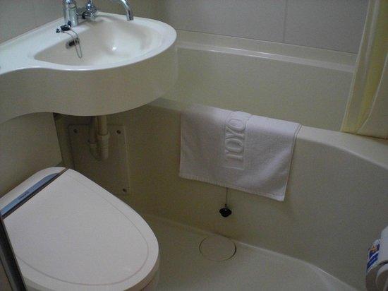 Toyoko Inn Busan Station No.2:                   浴室環境