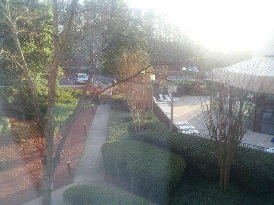 ماريوت أتلانتا نوركروس: View from window