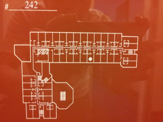 Atlanta Marriott Peachtree Corners: Layout of hotel