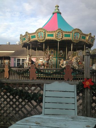 The Colonial Inn at Historic Smithville :                   Carousel