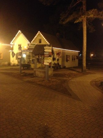 The Colonial Inn at Historic Smithville:                   The Village at night