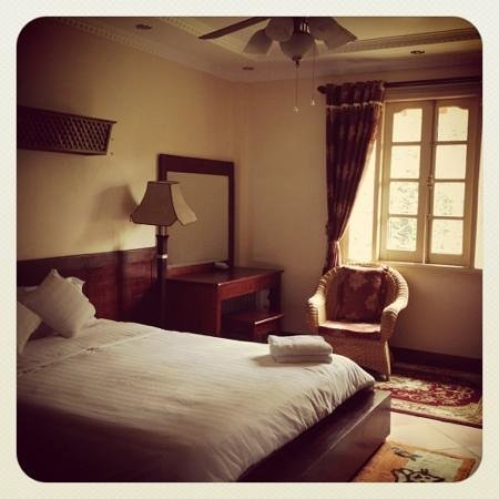 Sapa Garden Bed and Breakfast: we loved our upstairs bedroom