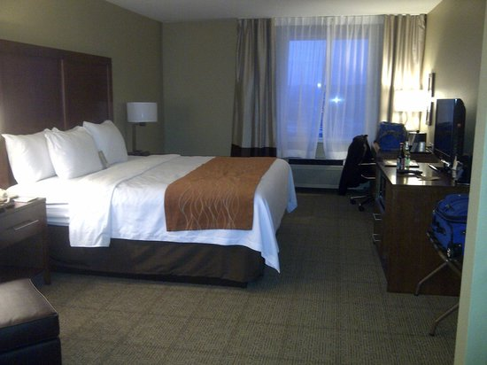 Comfort Inn & Suites: King Bed room